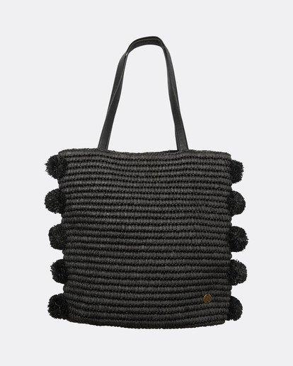 2 Palms Up Large Straw Tote Bag Negro L9BG09BIF8 Billabong