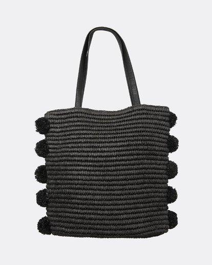 3 Palms Up Large Straw Tote Bag Negro L9BG09BIF8 Billabong