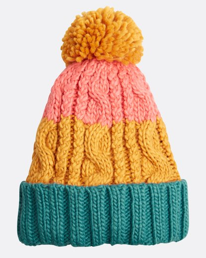 1 Headsss Big Cable Knitted Beanie Amarillo L9BN06BIF8 Billabong
