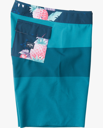 "6 Tribong Airlite Boardshorts 19"" Blue M1023BTA Billabong"