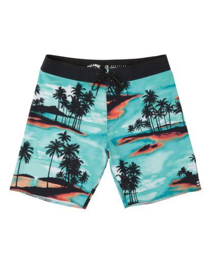 "0 Sundays Airlite Boardshorts 19"" Blue M1031BSA Billabong"