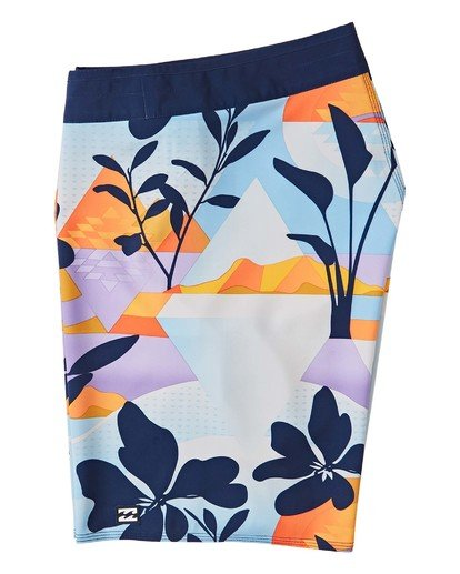 "3 Sundays Airlite Boardshorts 19"" Blue M1031BSA Billabong"