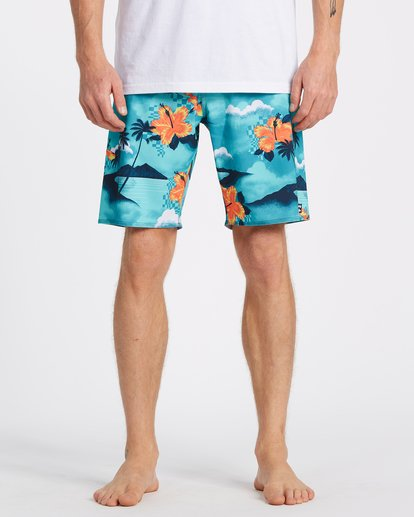 "2 Sundays Airlite Boardshort 19"" Multicolor M1031BSA Billabong"