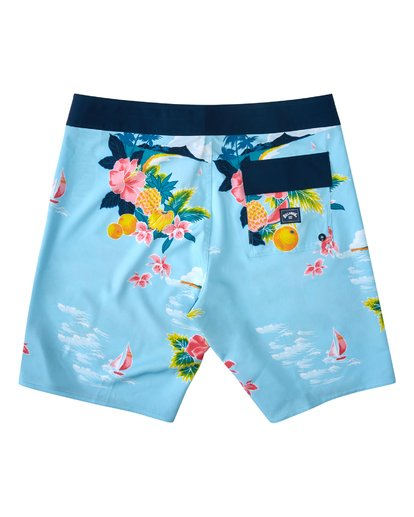 "1 Sundays Airlite Hawaii Boardshort 19"" Blue M1033BSD Billabong"