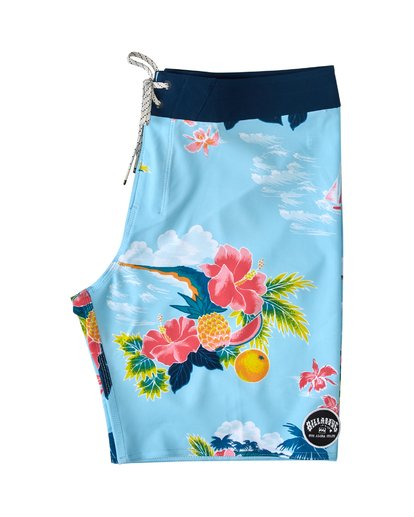 "2 Sundays Airlite Hawaii Boardshort 19"" Blue M1033BSD Billabong"