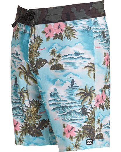 2 Sundays Airlite Boardshorts Green M103TBSU Billabong