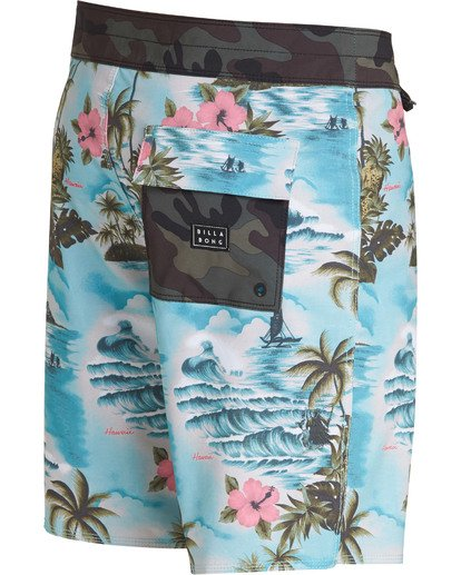 3 Sundays Airlite Boardshorts Green M103TBSU Billabong