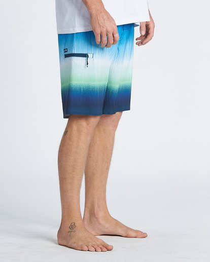 7 Fluid Airlite Boardshorts Green M1041BFL Billabong