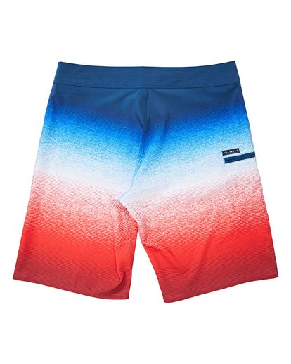 1 Fluid Airlite Boardshorts Red M104TBFL Billabong