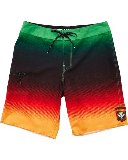 1 Fluid Airlite Boardshorts White M104TBFL Billabong