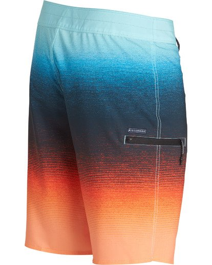 3 Fluid Airlite Boardshorts Orange M104TBFL Billabong