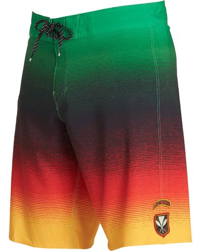 4 Fluid Airlite Boardshorts White M104TBFL Billabong