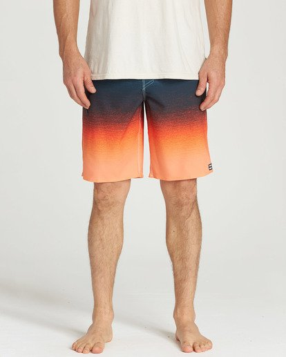 8 Fluid Airlite Boardshorts Orange M104TBFL Billabong
