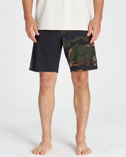 7 D Bah Airlite Boardshorts Multicolor M105VBIA Billabong