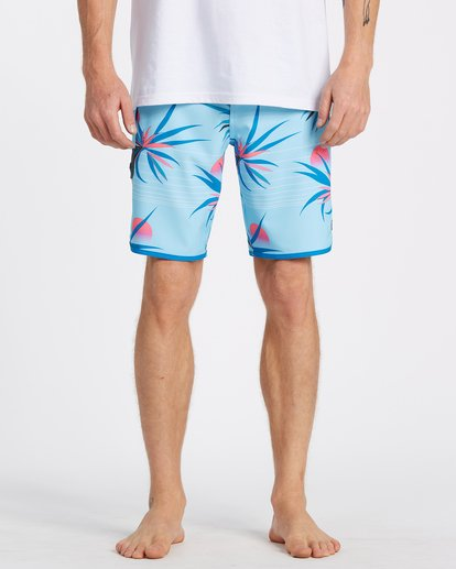 "2 73 Airlite Boardshort 19"" Blue M1061BSA Billabong"