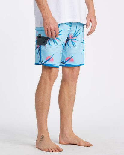 "4 73 Airlite Boardshorts 19"" Blue M1061BSA Billabong"