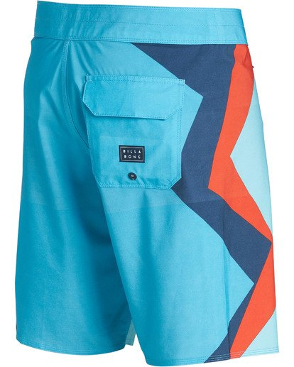 2 Dume Airlite Performance Boardshorts Blue M106SBDU Billabong