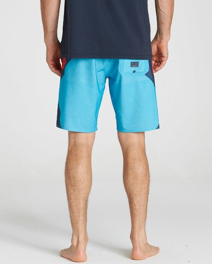 4 Dume Airlite Performance Boardshorts Blue M106SBDU Billabong