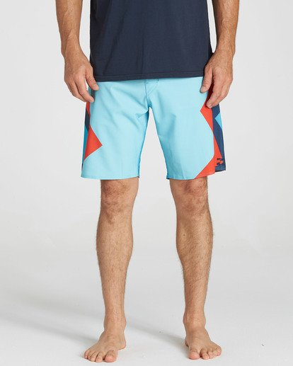 3 Dume Airlite Performance Boardshorts Blue M106SBDU Billabong