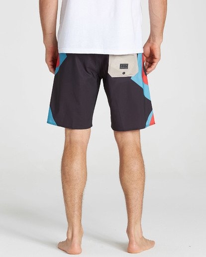 5 Dume Airlite Performance Boardshorts Grey M106SBDU Billabong