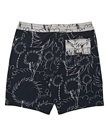 1 Lorax Sundays Lo Tides Boardshorts Black M1132BLS Billabong