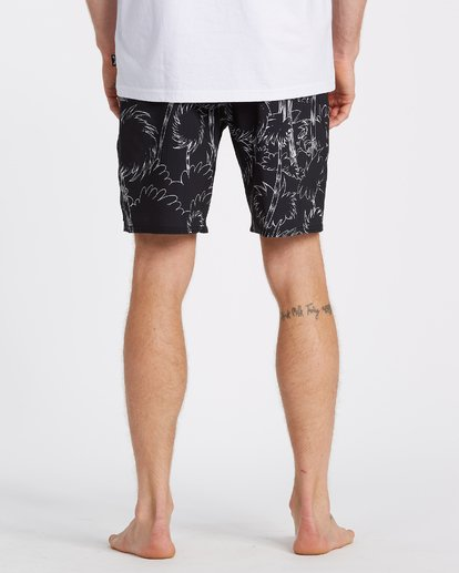 5 Lorax Sundays Lo Tides Boardshorts Black M1132BLS Billabong