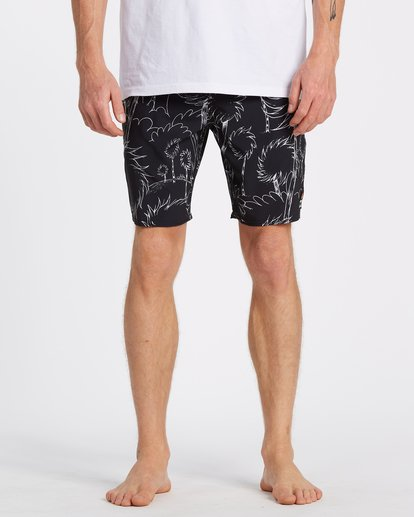 2 Lorax Sundays Lo Tides Boardshorts Black M1132BLS Billabong
