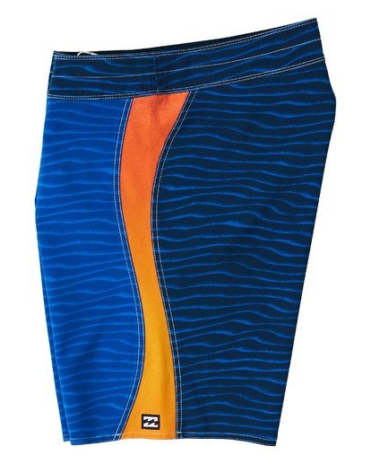 "2 S Turn Pro Boardshort 19"" Blue M1163BSS Billabong"