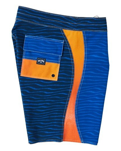 "3 S Turn Pro Boardshort 19"" Blue M1163BSS Billabong"