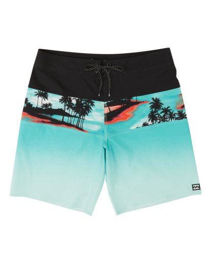 "0 Tribong Pro Boardshorts 19"" Blue M1201BTB Billabong"