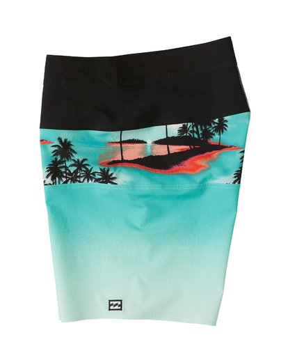 "2 Tribong Pro Boardshorts 19"" Blue M1201BTB Billabong"