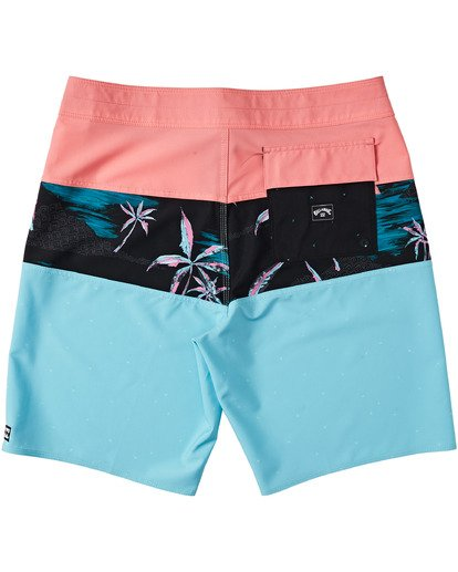 "3 Tribong Pro Boardshort 19"" Red M1201BTB Billabong"