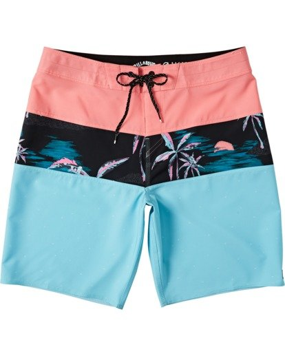 "0 Tribong Pro Boardshort 19"" Red M1201BTB Billabong"