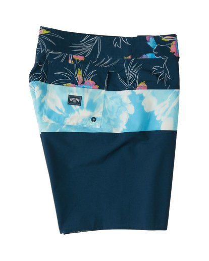 "3 Tribong Pro Boardshort 19"" Blue M1201BTB Billabong"