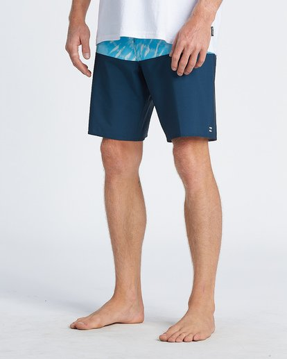"8 Tribong Pro Boardshort 19"" Blue M1201BTB Billabong"