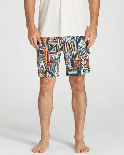 4 Sundays X Boardshorts Yellow M120NBSU Billabong