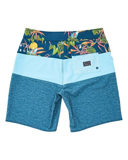 1 Tribong Pro Boardshorts Blue M120TBTB Billabong