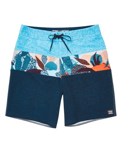 0 Tribong Pro Boardshorts Blue M120TBTB Billabong