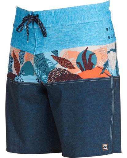 2 Tribong Pro Boardshorts Blue M120TBTB Billabong