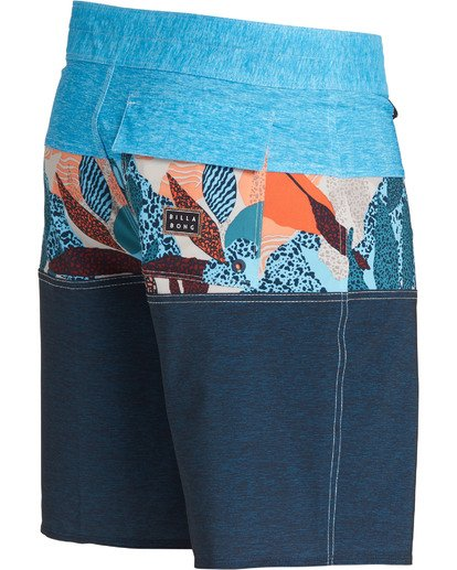 3 Tribong Pro Boardshorts Blue M120TBTB Billabong