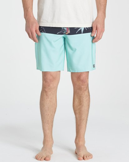 7 Tribong Pro Boardshorts Green M120TBTB Billabong