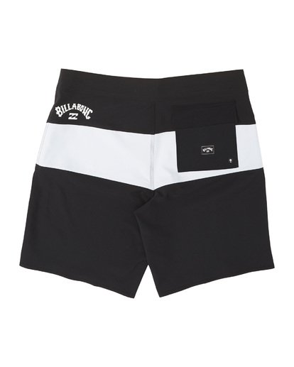 1 Tribong Pro Solid Boardshorts Black M1211BTS Billabong