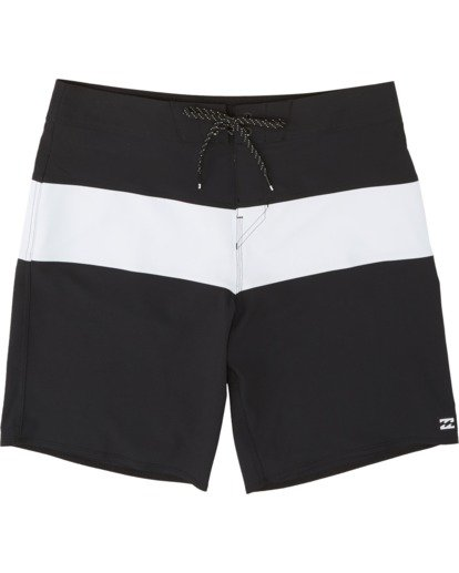 0 Tribong Pro Solid Boardshorts Black M1211BTS Billabong