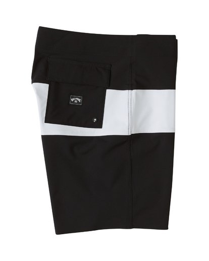 3 Tribong Pro Solid Boardshorts Black M1211BTS Billabong