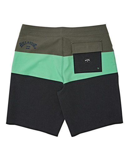 1 Tribong Pro Solid Boardshorts Green M1211BTS Billabong