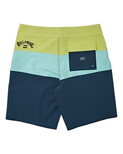 1 Tribong Pro Solid Boardshorts Blue M1211BTS Billabong