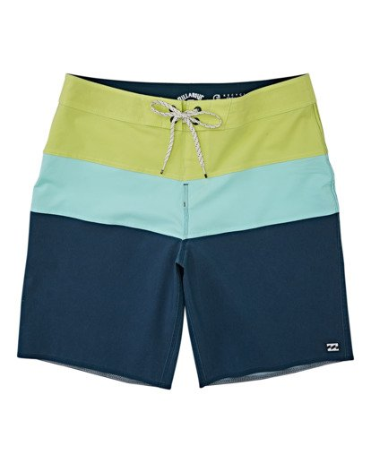 0 Tribong Pro Solid Boardshorts Blue M1211BTS Billabong