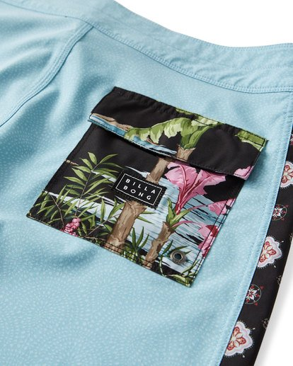 5 D Bah Pro Boardshorts Blue M121TBSP Billabong
