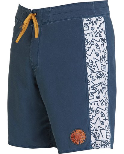6 D Bah Pro Boardshorts Blue M121TBSP Billabong