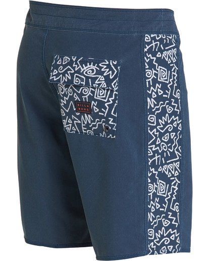 7 D Bah Pro Boardshorts Blue M121TBSP Billabong